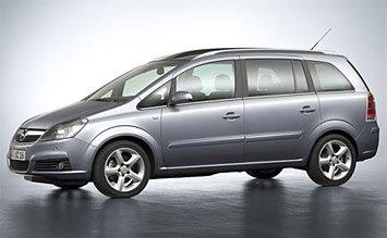 2012 Opel Zafira 5+2